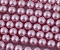 6mm SWAROVSKI® ELEMENTS Powder Rose Crystal Pearl Beads - 50 pearls for jewellery making, beadwork and craft